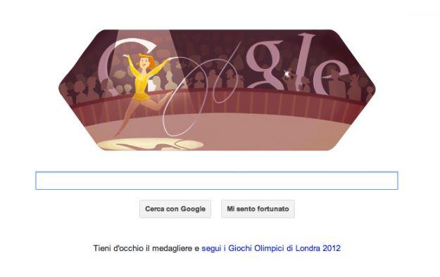 londra 2012 ginnastica ritmica doodle