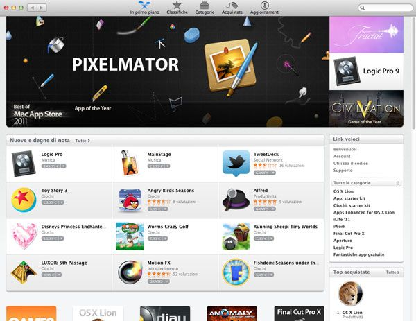 Sono oltre 100 milioni le applicazioni per Mac scaricate dal Mac App Store