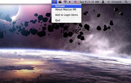 MacLoc blocca il vostro Mac con un click