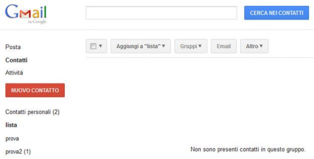 how to create mailing list on gmail