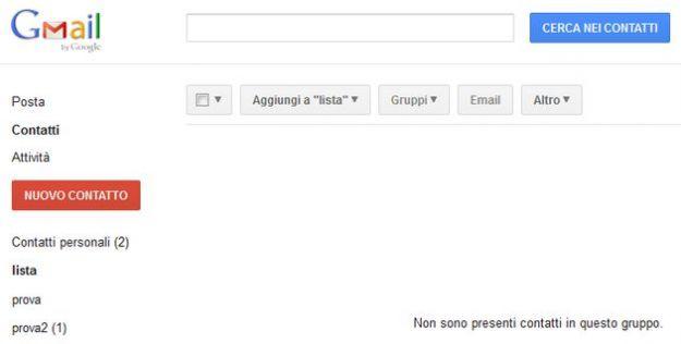 mailing list gmail