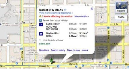 Aggiornamento Google Maps per Android: versione 5.7 con Transit Navigation