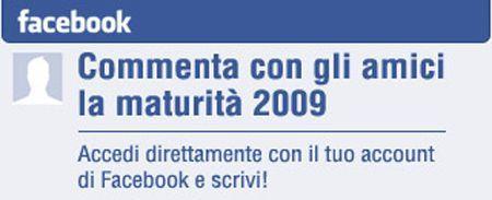 Facebook Maturità 2009