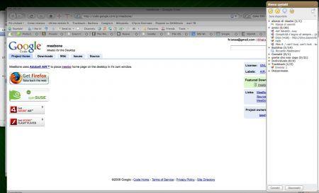 MeeBone porta Meebo sul vostro desktop