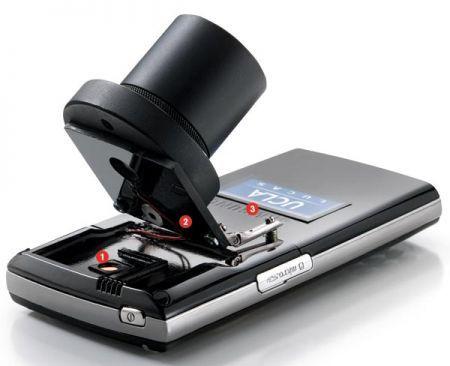 Microskia smartphone sangue