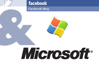 microsoft facebook partnership