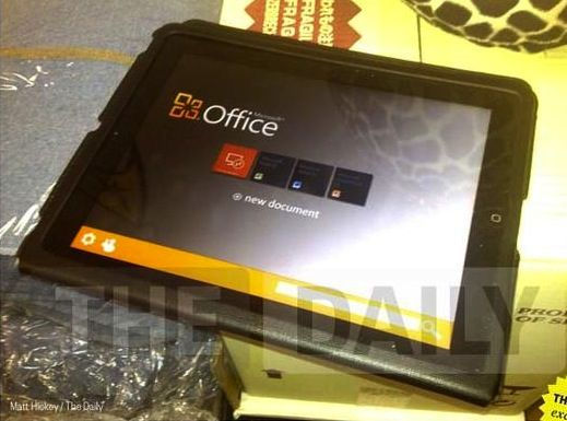 Office per iPad  in arrivo? No, non  vero (ma Microsoft nasconde qualcosa)