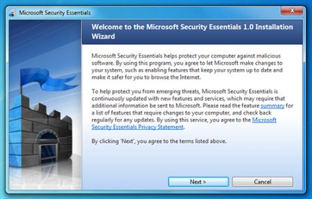 Microsoft Security Essentials: nuovo scareware