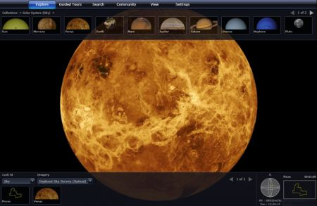 WorldWide Telescope è ora utilizzabile da qualsiasi browser