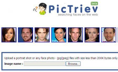 motore di ricerca immagini simili PicTriev