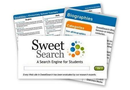 Motore di ricerca per studenti: Sweet Search