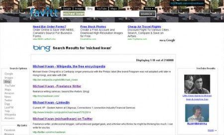 Creare un motore di ricerca personalizzato con Favitt