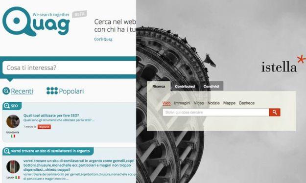 Motori di ricerca italiani: Quag e Istella