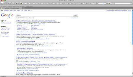 mozilla firefox 04 google risultati