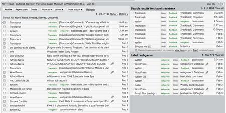 Gmail: ora si possono aprire più inbox a colonne