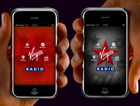 Musica su iPhone: app ufficiale di Virgin Radio