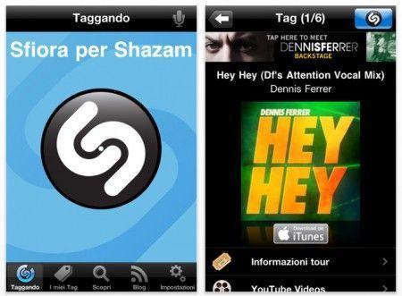 musica iphone shazam