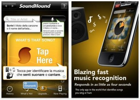 musica iphone soundhound
