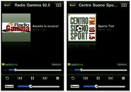 musica iphone tunein radio