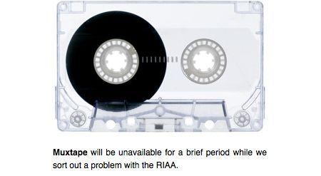 Muxtape chiuso dalla RIAA