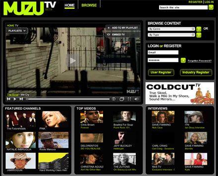 Muzu TV sfida YouTube
