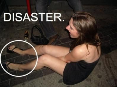 ragazza ubriaca