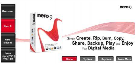 Nero 9 lite: versione gratis di Nero Burning ROM
