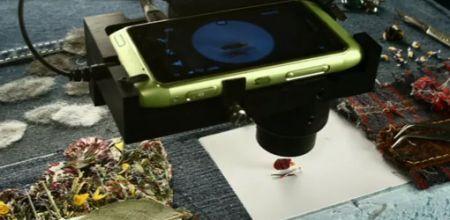 Nokia N8: cortometraggio più piccolo al mondo
