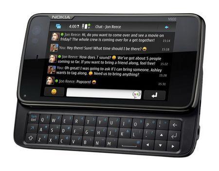 Nokia: smartphone n900 con Linux
