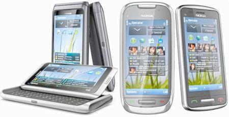 Nokia: in arrivo tre smartphone con Symbian 3