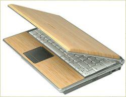 laptop bambù