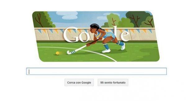 olimpiadi londra 2012 google doodle hockey su prato