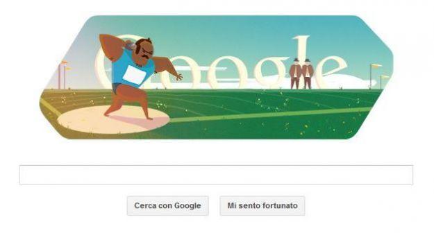 olimpiadi londra 2012 lancio del peso google doodle