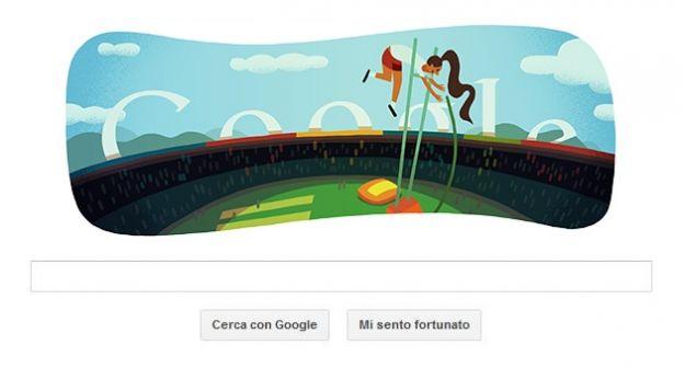 olimpiadi londra 2012 salto asta google doodle