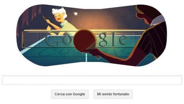 olimpiadi londra 2012 tennis da tavolo google doodle