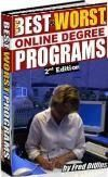 THE BEST AND WORST ONLINE DEGREE PROGRAMS