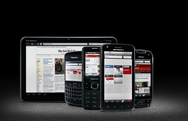 Usare il browser Opera Mini sugli smartphone iPhone, Android e Blackberry