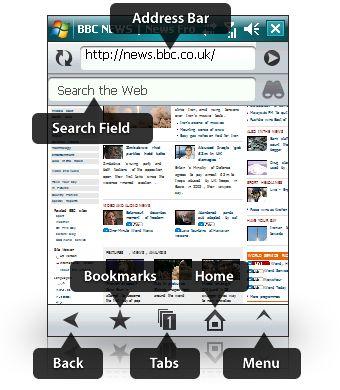 opera mobile 9.5 beta-UI