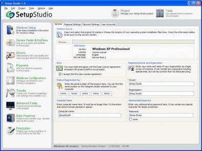 Setup Studio screenshot
