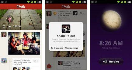 Aggiornamento per l'applicazione Android Path già sul Market