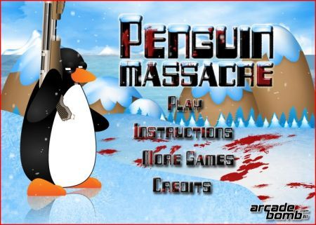 Browser game penguin massacre