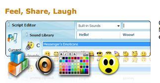 personalizzare msn emoticons