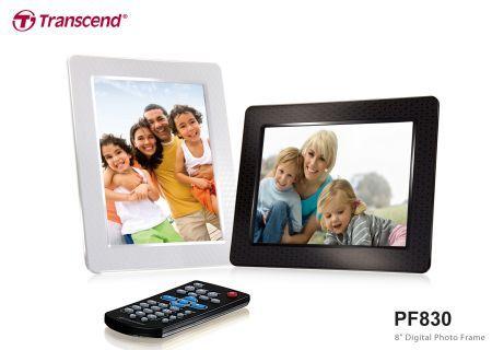 Transcend cornice digitale PF830