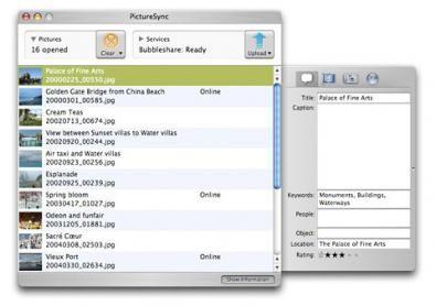 PictureSync screenshot
