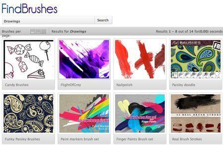 photoshop findBrushes