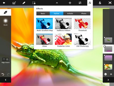 Adobe Photoshop disponibile per iPad 2