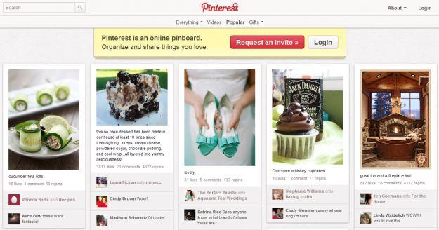 Il Social Network del 2012 sarà Pinterest