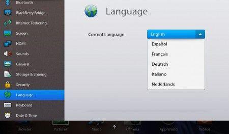 BlackBerry PlayBook si aggiorna a v1.0.5, ecco l'italiano!