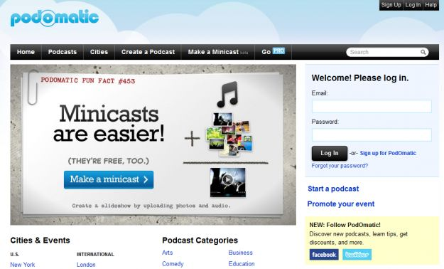 podomatic podcast