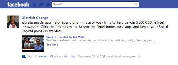 Sul profilo Facebook è in arrivo il pulsante